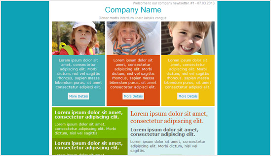 Family Email Newsletter Templates  Email Newsletter Templates