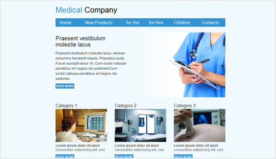 Medical Email Newsletter Templates Email Newsletter Templates - Email brochure template