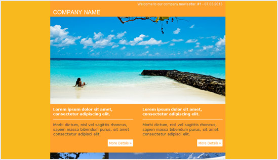 Travel Email Newsletter Templates | Email Newsletter Templates